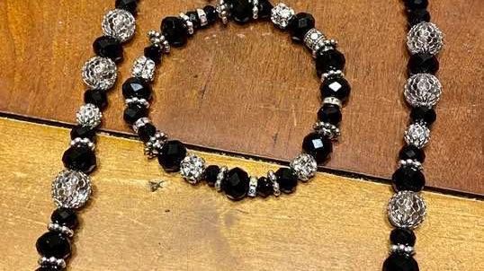 Wakanda Necklace and Bracelet Set