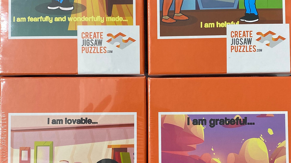 12 Affirmations Puzzle Combo