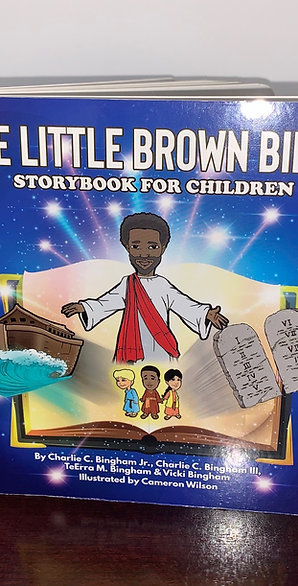 Board Book - The Little Brown Bible Storybook for Children