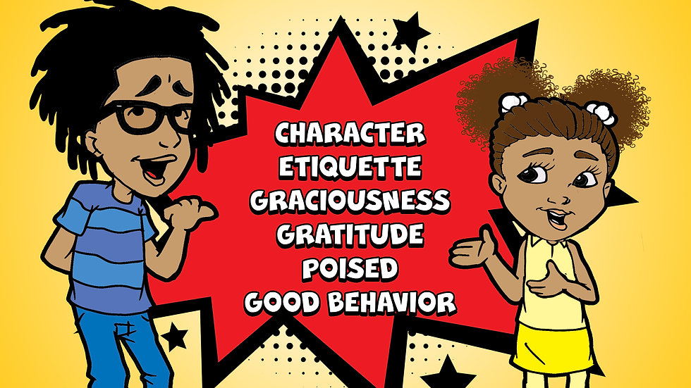 Stepping Into Good Manners