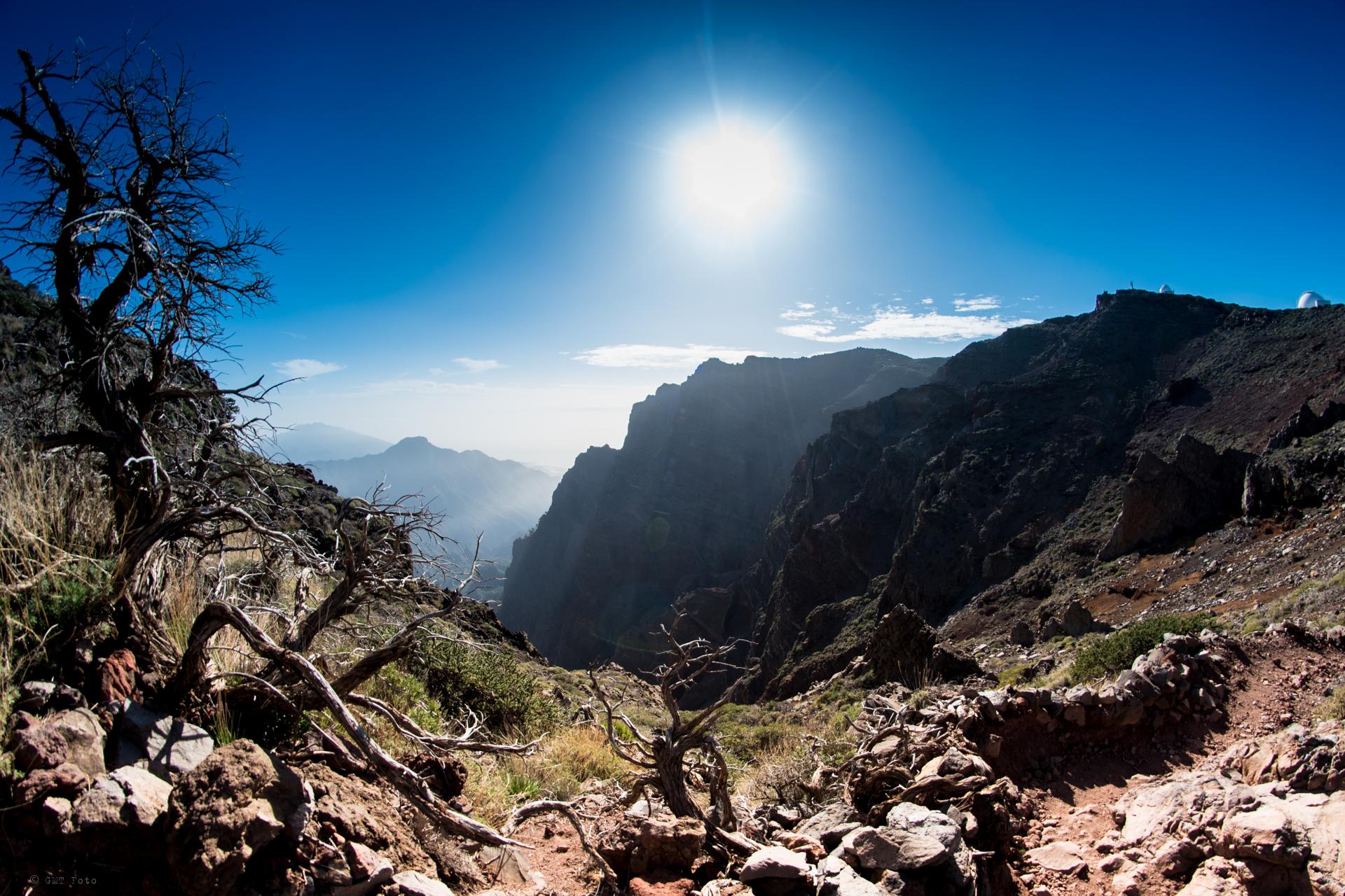 Roque de la Muchachos La Palma (Cana