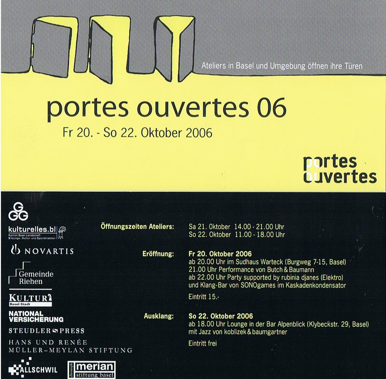 Portes Ouvertes 2006