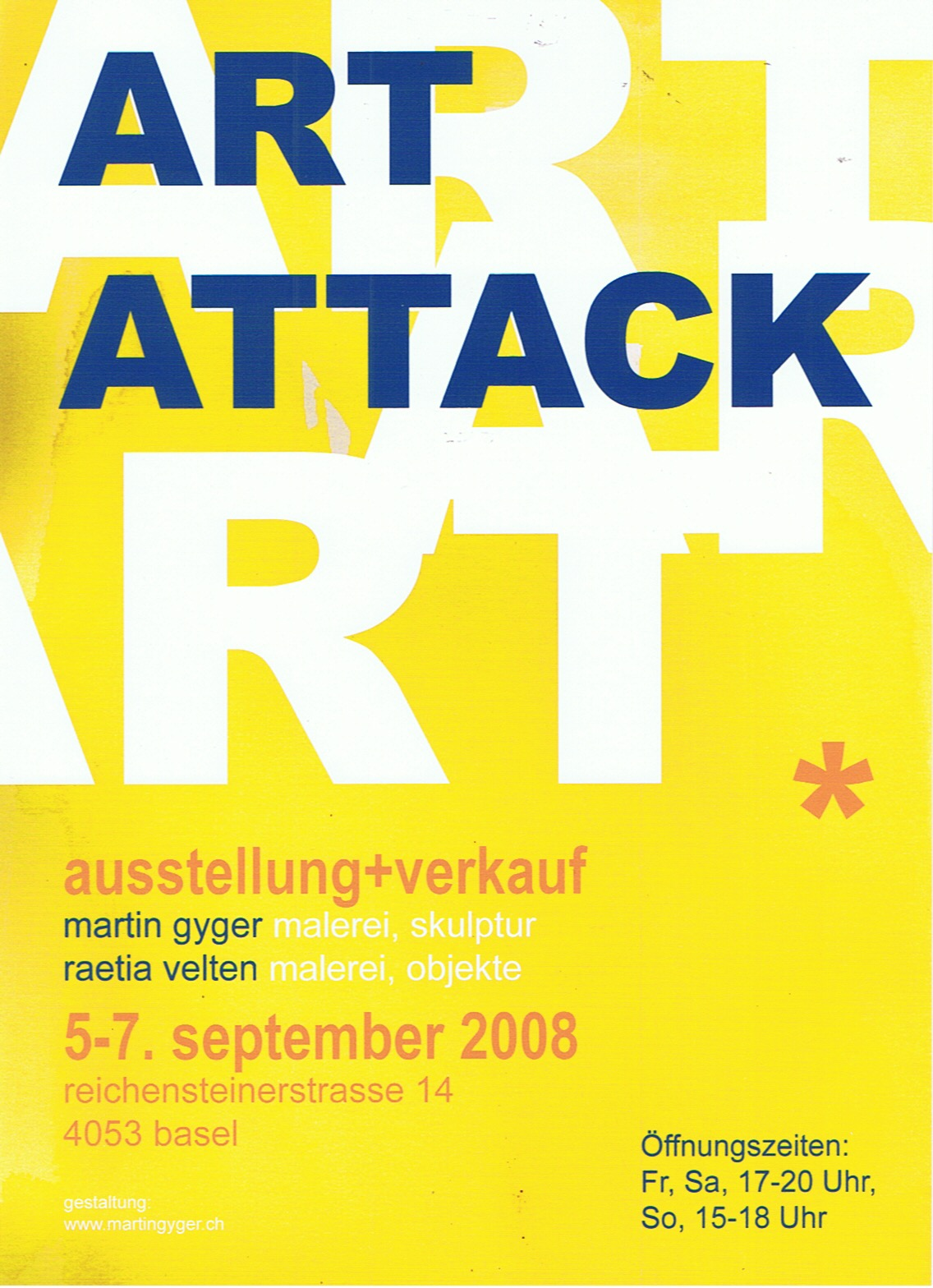 ART ATTACK 2008, Basel