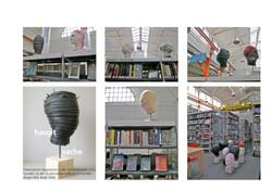 QuARTier, skulpturenausstellung gundeldinger feld 2008