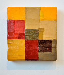 Composition with Dark Yellow