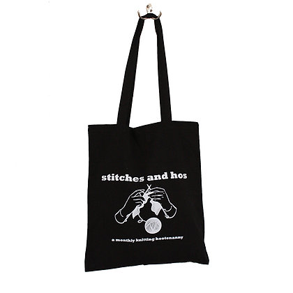 Stitches and Hos Tote Bag