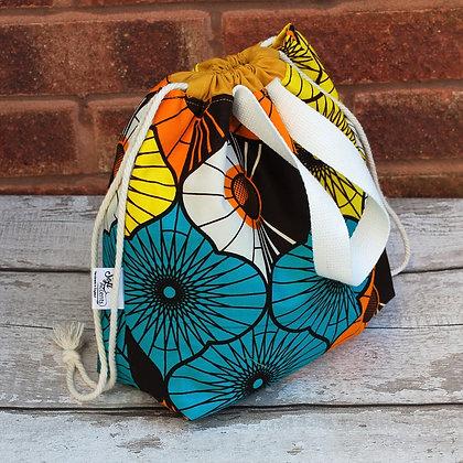 Farai Retro Wax Print Small Project Bag
