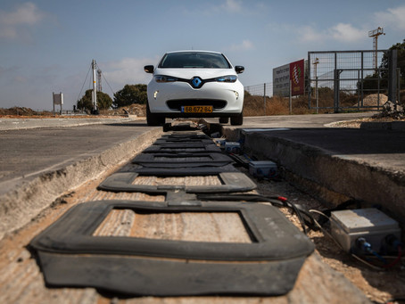 Electric Roads Could Be a Path to a Driverless Future