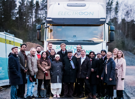 Indian minister of Transport and Highways visit