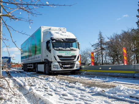Successful test of dynamic charging of the truck
