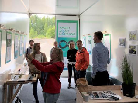 Swedish energy company Vattenfall visiting