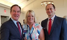 Bill Schuette with Tammi and Myron Greene