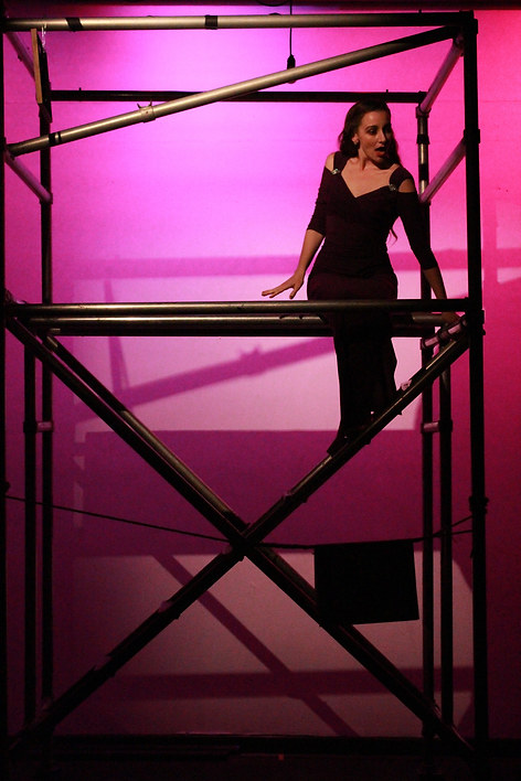 Gussie in Merrily We Roll Along at UC Irvine