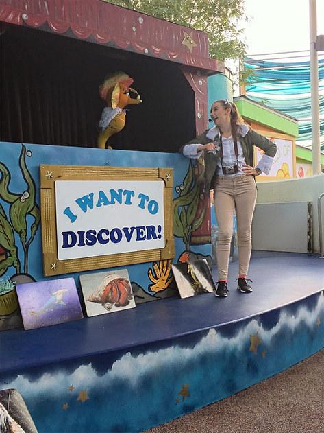 Sarah Seastar in Pacific Pals LIVE!