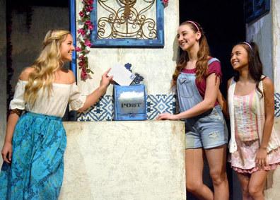 Ali in Mamma Mia at The Laguna Playhouse