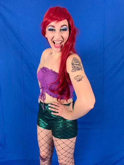 The Little Mermaid in Disenchanted! virtually at The Laguna Playhouse