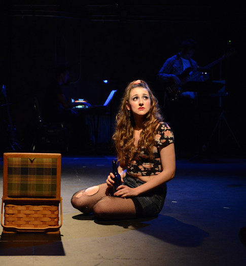Sherrie in Rock of Ages at UC Irvine