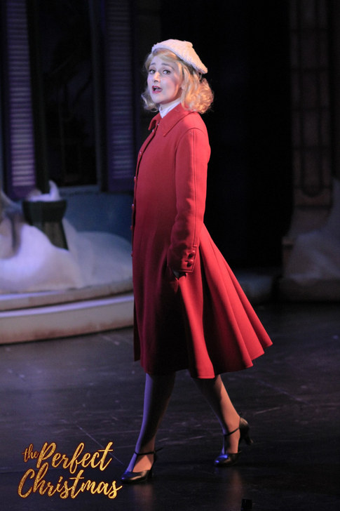 Noelle in The Perfect Christmas at Candlelight Pavilion