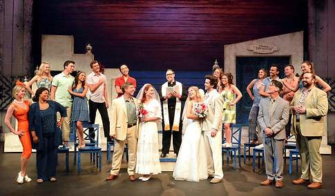 Ali in Mamma Mia at The Laguna Playhouse