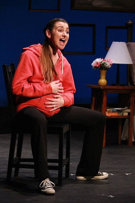Lizzie in Baby at The Laguna Playhouse