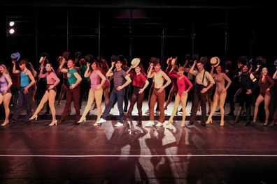 Maggie in A Chorus Line at Sierra Repertory Theatre