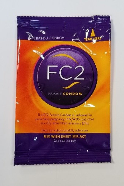 Nitrile FC2 Women's Condoms