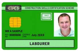 CSCS Labourer Card (Green Card)