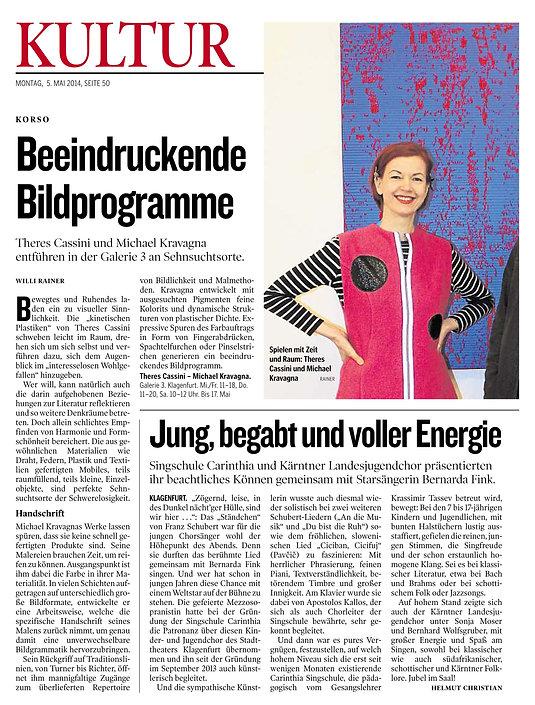 Klangjuwelen - Pressebericht - Helmut Ch