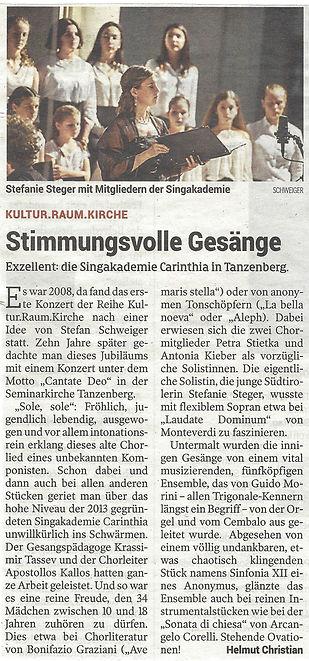 Pressebericht Kleine Zeitung 11062018.jp