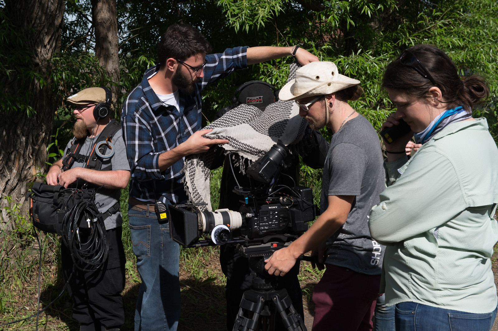 Camera, Sound, Assistant Director,