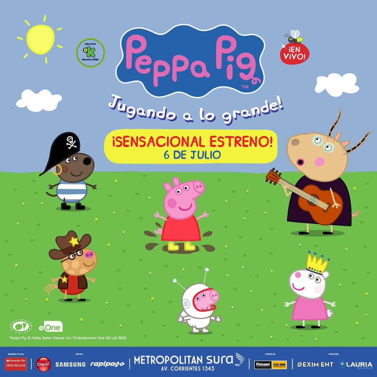 Peppa Pig ¡Jugando a lo grande!