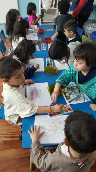 Artistas en Sala de 3 JC