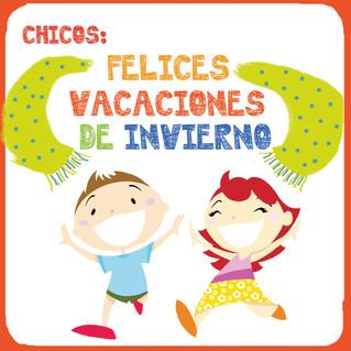 VACACIONES DE INVERNO ONLINE