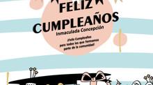 FELIZ CUMPLEAÑOS A NUESTRO COLEGIO INMACULADA CONCEPCIÓN