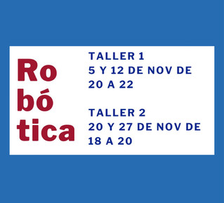 Taller inicial de Robótica