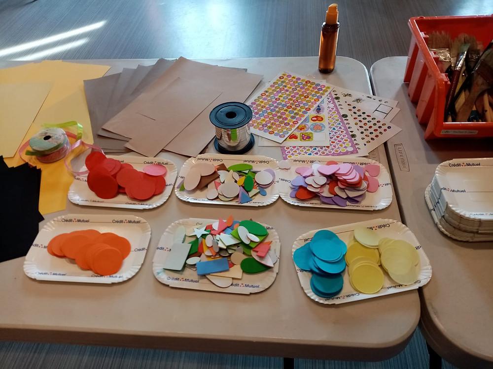 Atelier créatif enfant 4 à 10 ans Pays de Gex CSC Les Libellules