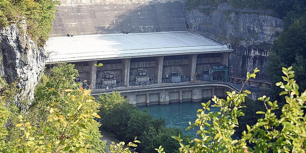 Sortie Découverte Pour tous au barrage de Genissiat (01)