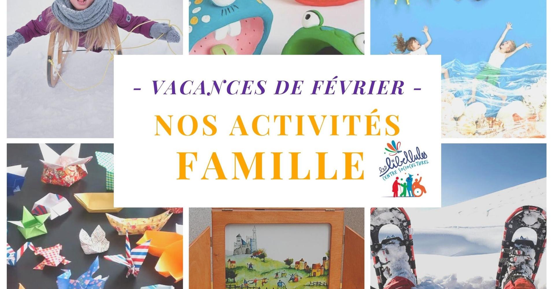 > 12 activités et sorties à faire en famille avec le CSC pendant les vacances !