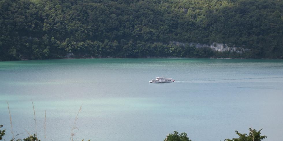 Sortie pour tous au Lac de Vouglans (Jura)