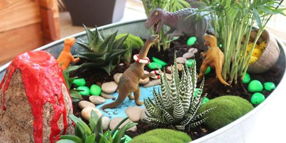 Atelier crée ton jardin miniature