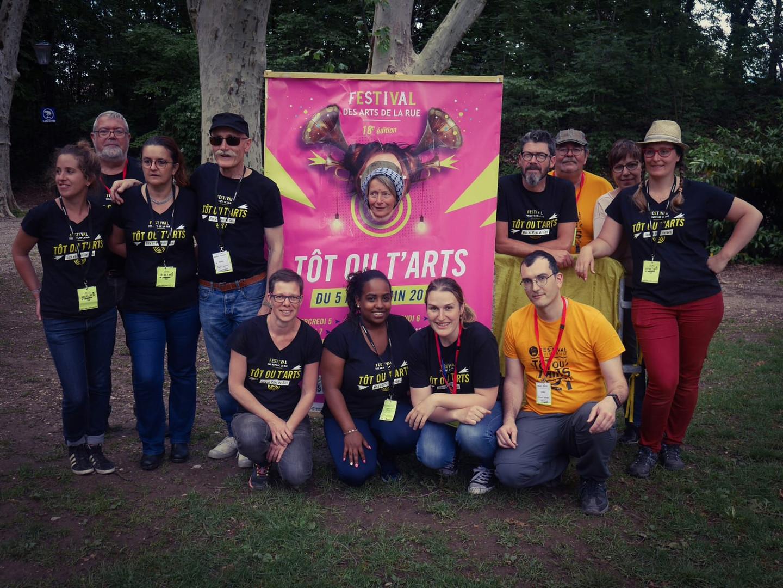 L'équipe et bénévoles_Festival arts de r