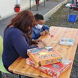 Café jeux ambulants ludothèque les Abeil