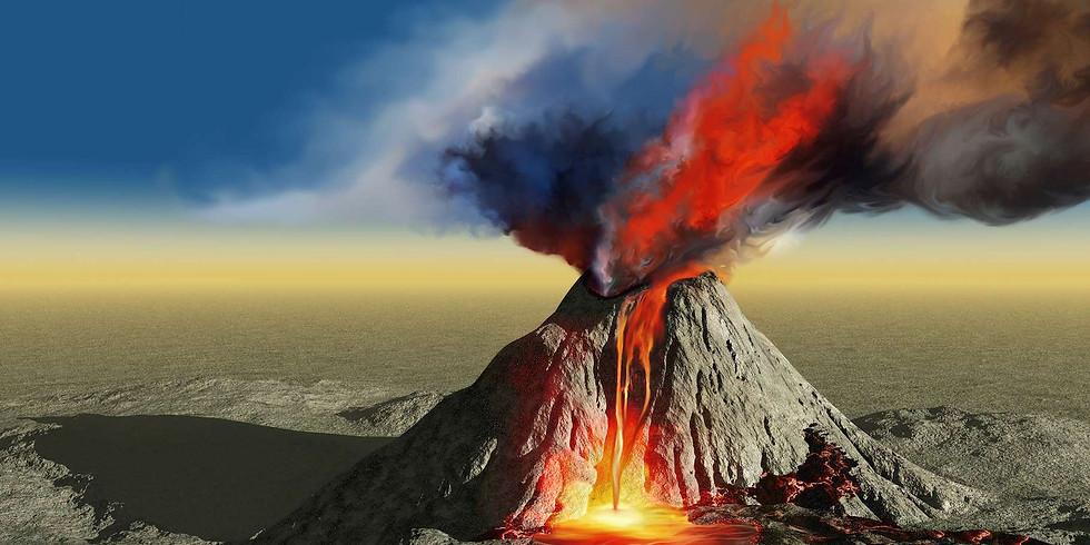 Atelier Fabrique un volcan à éruption (3-10 ans)