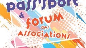 Retrouvez-nous au forum des associations de Cessy, le 28 août 2021