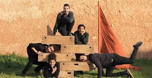 Compagnie du 13ème Quai et l'Ecole Nationale du Cirque Shem's Y au Maroc