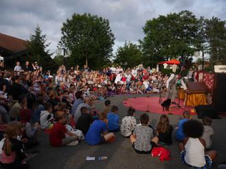 Les spectacles du festival Tôt ou T'Arts dans les parcs et espaces publics du Pays de Gex