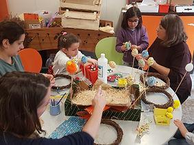 Ateliers parents enfants de 4 à 10 ans Pays de Gex avec le CSC Les Libellules