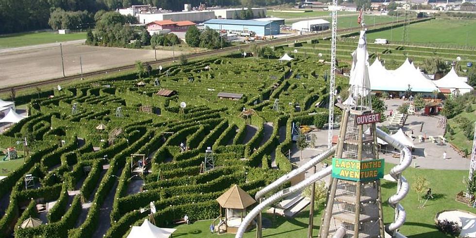 Sortie ados Labyrinthe Aventure à Evionnaz (Suisse)