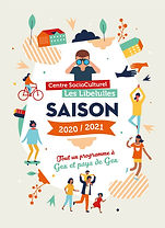 Couverture guide papier CSC Les Libellul