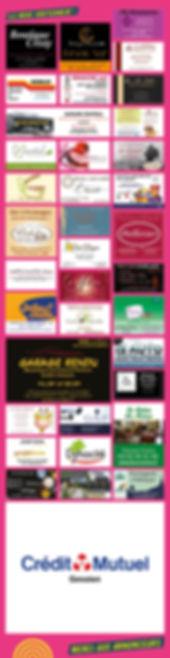 Liste Commerçants partenaires Festival d'art de rue Tôt ou T'Arts Pays de Gex